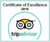 TripAdvisor Excellent 2019